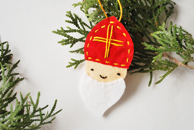 DIY Saint Nicholas Ornament