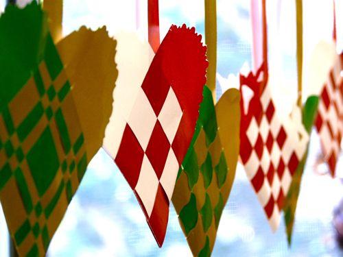 DIY Saint Lucy Ornaments