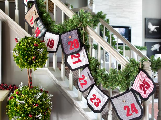 DIY Advent Banner