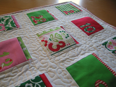 DIY Advent Quilt
