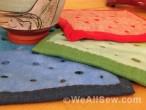 DIY Wool Trivet