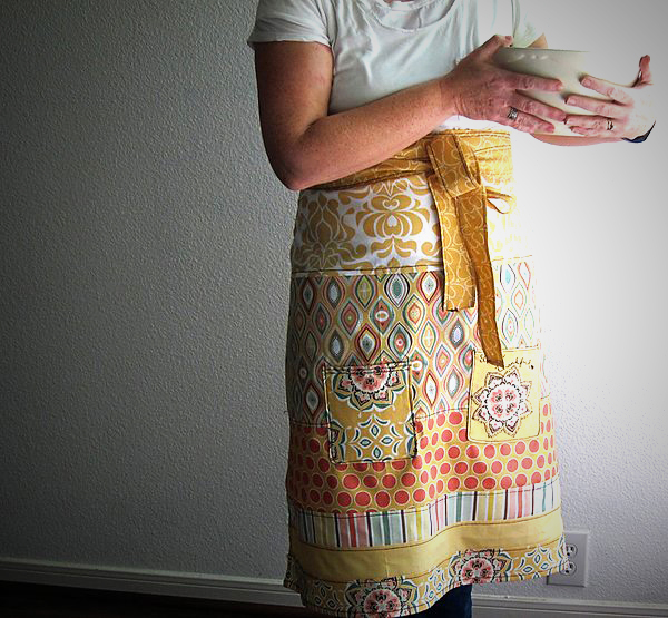 DIY so very thankful apron
