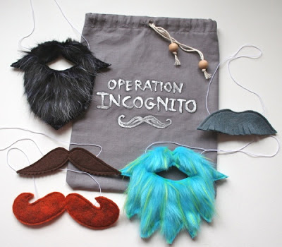 DIY kids disguise kit