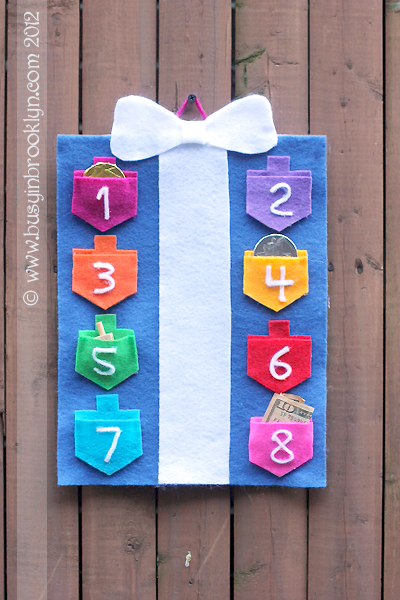 DIY Hanukkah Gift Holder