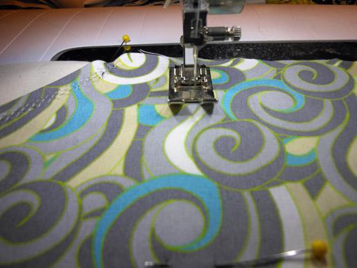 zigzag stitching
