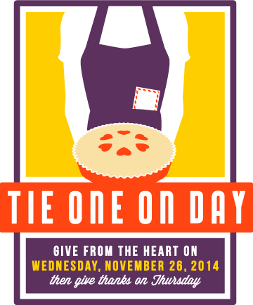 Tie One On Day logo