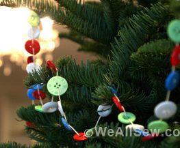 DIY holiday tree decorations