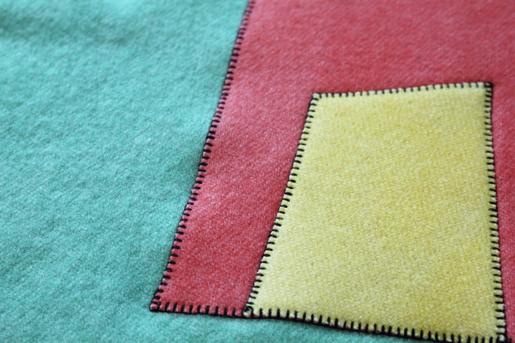 blanket stitch applique