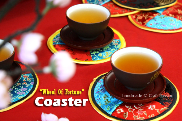DIY Fortune Coasters