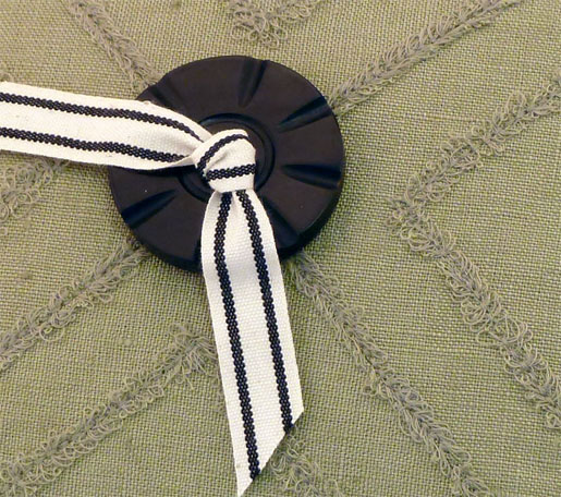button and ribbon