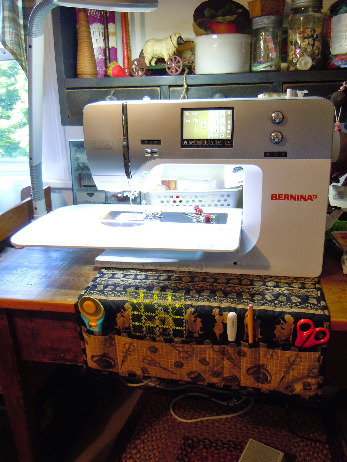 DIY Sewing Machine Mat
