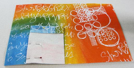 diy folio inside cover
