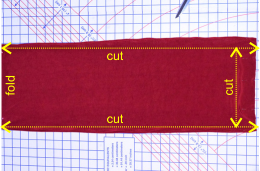 cutting instructions