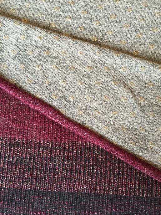 coordinating knit fabrics