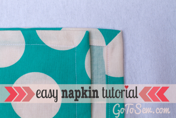 easy napkin tutorial