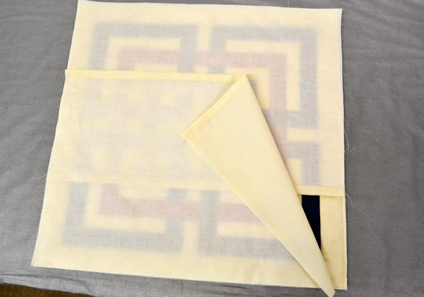 How to make a Shanghai Links pillow