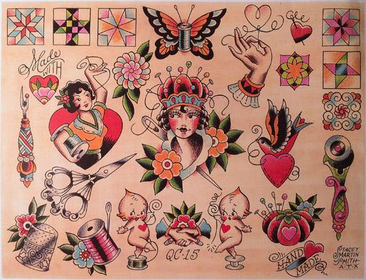 Stacey Martin Smith tattoo artist
