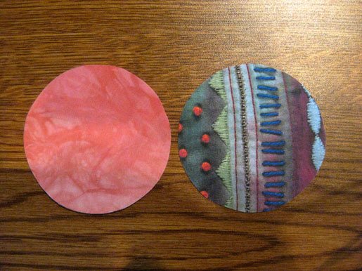 Cut Out Fabric Circles
