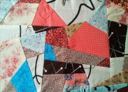 Improvisational Patchwork Block