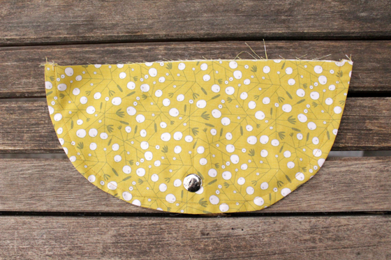 How to sew a modern fanny pack