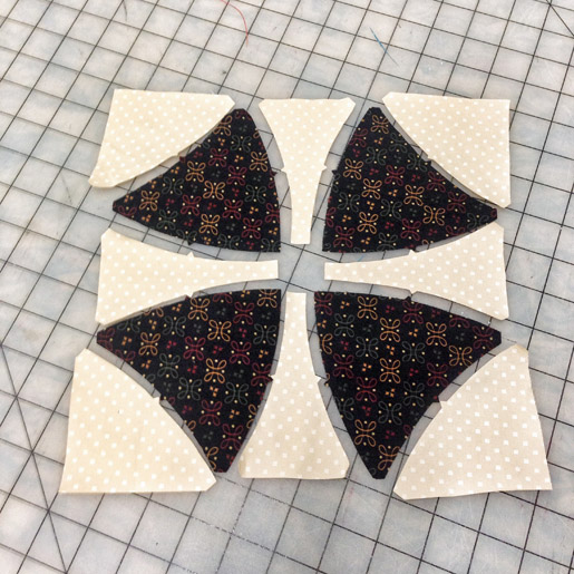 Cut Quilt Pieces