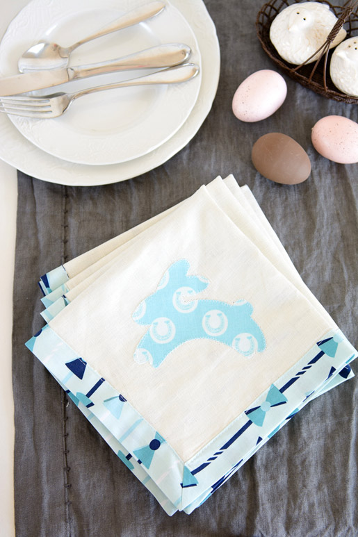 DIY Easter Napkin Tutorial