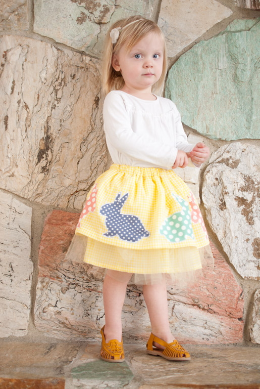 Kids Easter Skirt