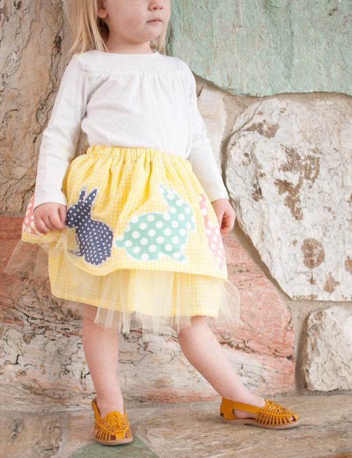 Free Easter skirt project