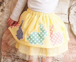 DIY Easter Skirt