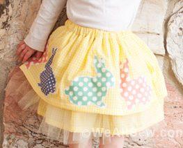 DIY Easter Skirt
