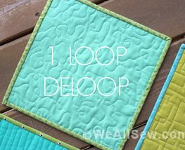Free Motion Quilting Series LoppDeLoop
