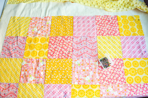 How to Make A Minky Backed Baby Quilt | WeAllSew