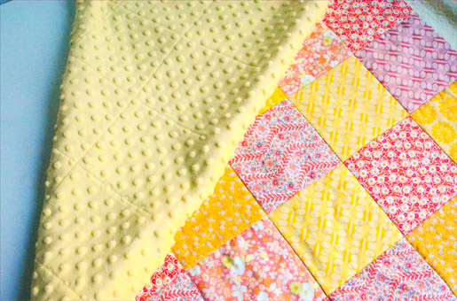 How to Make A Minky Backed Baby Quilt | WeAllSew : diy baby quilts - Adamdwight.com