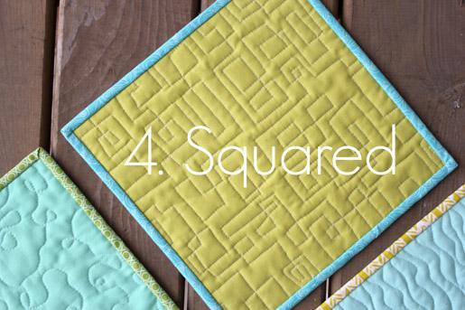 Squared Quilting Technique