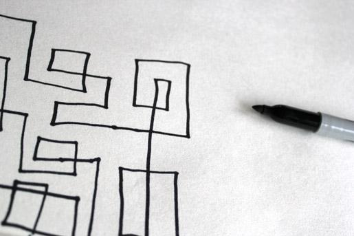 Squared Technique Sketching