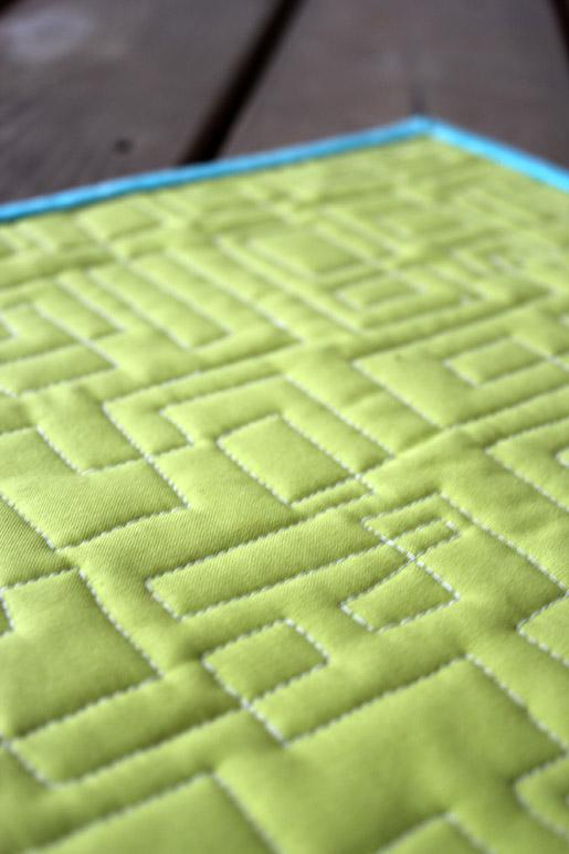 Squared Quilting Design