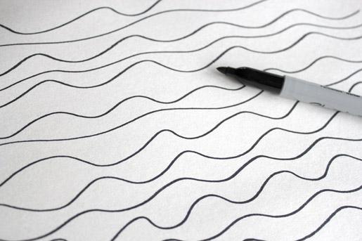 Waves Drawing