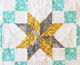 How to quilt a perfect circle
