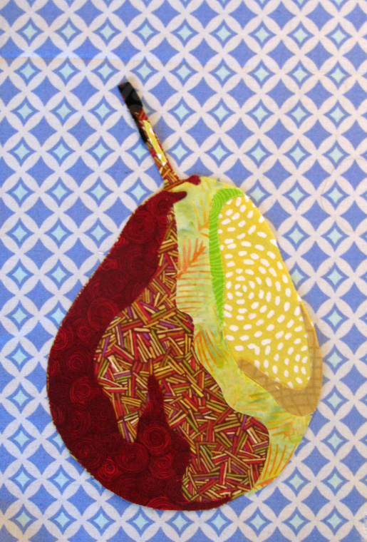 How to create a fabric collage art quilt from a photo