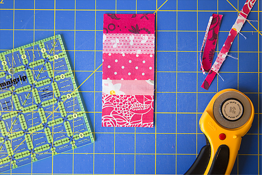 How to make a Scrap Plus quilt