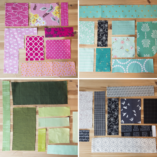 Scrap Plus Quilt Along Week 1 Weallsew