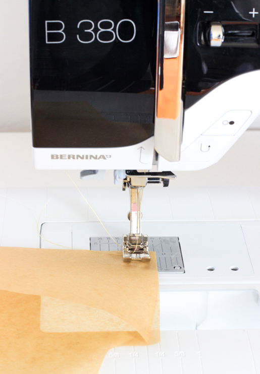 How to sew a custom seed package