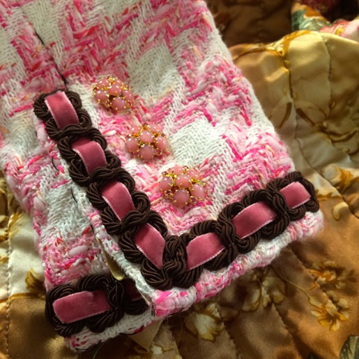 Haute Couture Sewing Samples by Susan Khalje