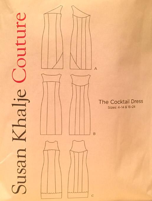 Susan Khalje Couture Pattern