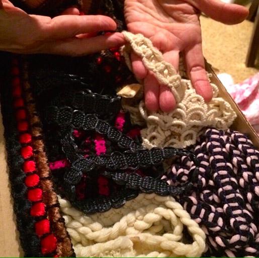 Susan Khalje's Chanel Trims