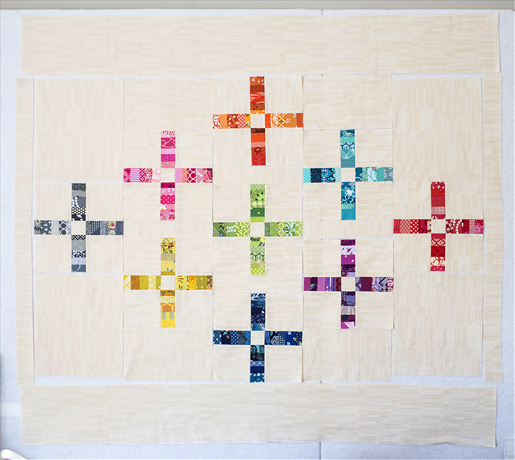 How to sew a Scrap Plus quilt