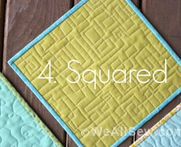 Squared Quilting Technique Tip