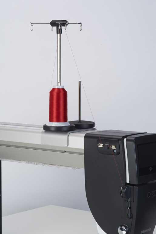 Threading the BERNINA Longarm Machine