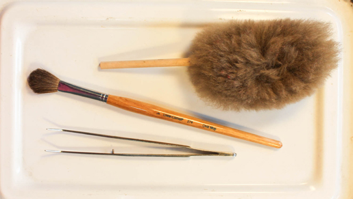 Brushes for Sewing Machine Cleaning