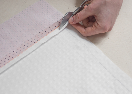 zipper_tutorial: How to grade the seam allowance